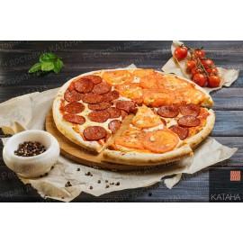 Пицца Маргарита + пепперони 40 см